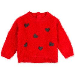 textil Barn Sweatshirts Losan 028-5000AL Röd