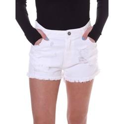 textil Dam Shorts / Bermudas Fornarina BE172B92D877KM Vit