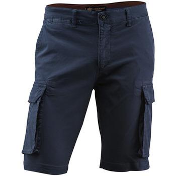 textil Herr Shorts / Bermudas Lumberjack CM80747 005 602 Blå