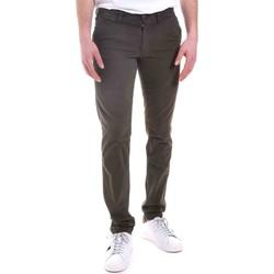 textil Herr Chinos / Carrot jeans Gaudi 021GU25014 Grön