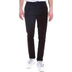 textil Herr Chinos / Carrot jeans Gaudi 021GU25014 Svart