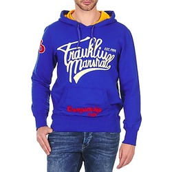 textil Herr Sweatshirts Franklin & Marshall SUNBURY Blå