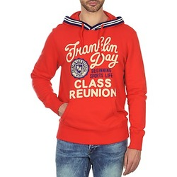 textil Herr Sweatshirts Franklin & Marshall GOSFORD Orange