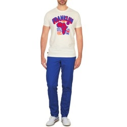 textil Herr Chinos / Carrot jeans Franklin & Marshall GLADSTONE Blå