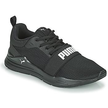 Skor Pojkar Sneakers Puma WIRED JR Svart