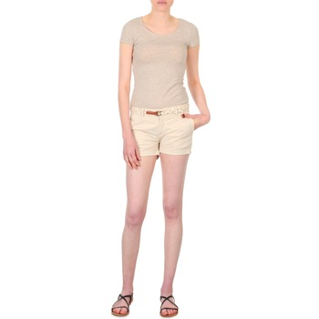 textil Dam Shorts / Bermudas Franklin & Marshall MACQUARIE Beige