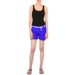 textil Dam Shorts / Bermudas Franklin & Marshall CALOUNDRA Blå