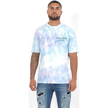 textil Herr Långärmade pikétröjor  Sixth June T-shirt  Custom Tie Dye noir