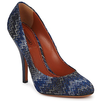 Skor Dam Pumps Missoni VM005 Blå