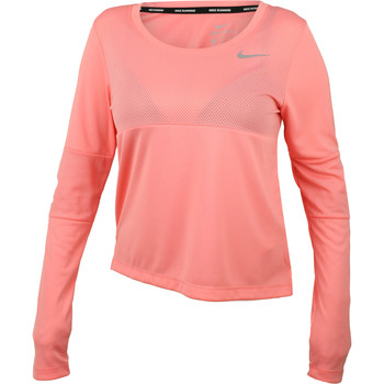 textil Dam Sweatjackets Nike Dry Top City Core Rosa