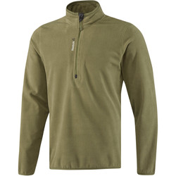 textil Herr Sweatjackets Reebok Sport Fitness Outdoor Fleece Quarter Zip Grön