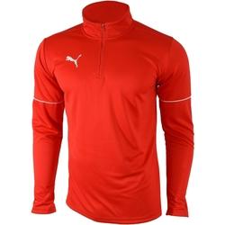 textil Herr Sweatjackets Puma Teamgoal 1/4 Zip Top Core Röd