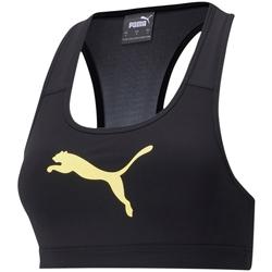 textil Dam Sport-BH Puma Mid Impact Svart