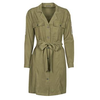 textil Dam Korta klänningar Ikks BS30055 Kaki