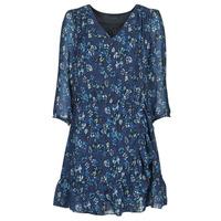 textil Dam Korta klänningar Ikks BS30055 Marin