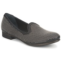 Skor Dam Loafers Strategia CLOUPI Svart