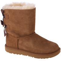 Skor Barn Boots UGG Bailey Bow II Kids 1017394K-CHE Marron