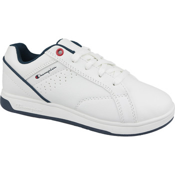 Skor Barn Sneakers Champion Ace Court Tennis As Blanc