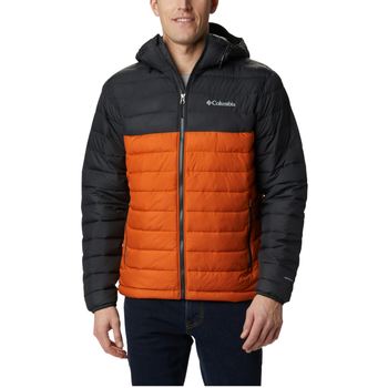 textil Herr Sweatshirts Columbia Powder Lite Hooded Jacket Orange