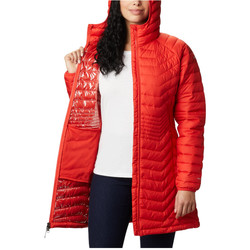 textil Dam Sweatshirts Columbia Powder Lite Mid Jacket Orange