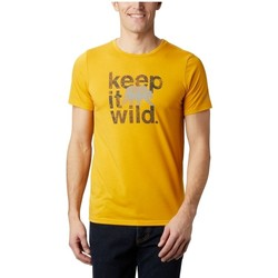 textil Herr T-shirts Columbia Terra Vale II SS Tee Jaune