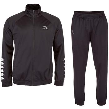 textil Herr Sportoverall Kappa Till Training Suit Noir