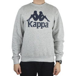 textil Herr Sweatshirts Kappa Sertum RN Sweatshirt Grise