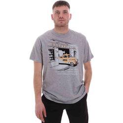 textil Herr T-shirts Caterpillar 35CC2510217 Grå