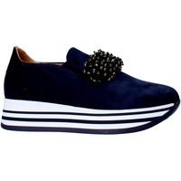 Skor Dam Slip-on-skor Grace Shoes MAR015 Blå