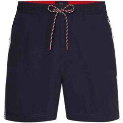 textil Herr Badbyxor och badkläder Tommy Hilfiger UM0UM02042 Blå