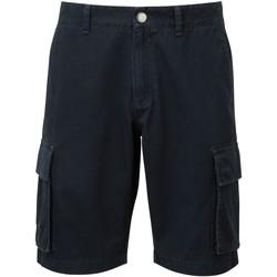textil Herr Shorts / Bermudas Asquith & Fox AQ054 Marinblått