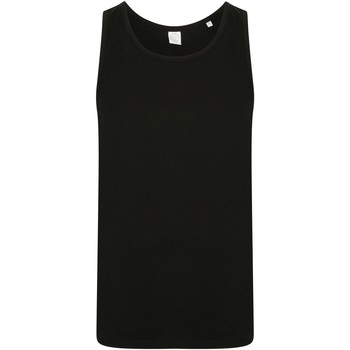 textil Herr Linnen / Ärmlösa T-shirts Skinni Fit SF123 Svart