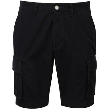 textil Herr Shorts / Bermudas Asquith & Fox AQ054 Svart