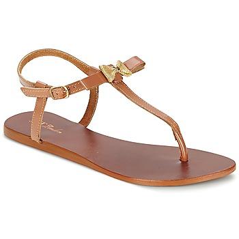 sandaler Betty London BASTINE Kamel 350x350