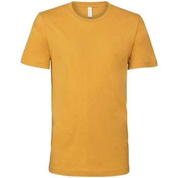 textil T-shirts Bella + Canvas CV3001 Senapsgult