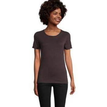textil Dam T-shirts Sols LUCAS WOME Burdeos
