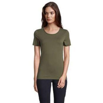 textil Dam T-shirts Sols LUCAS WOME Kaki oscuro