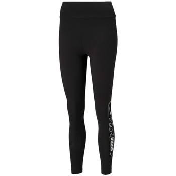 textil Dam Leggings Puma Rebel High 7/8 Svart