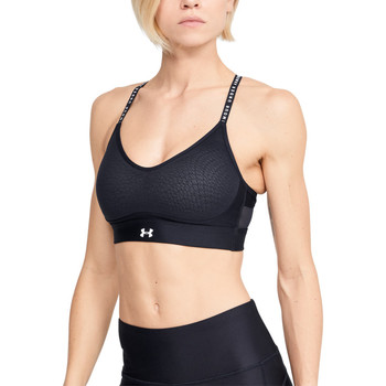 textil Dam Sport-BH Under Armour Infinity Low Bra Noir