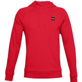textil Herr Sweatshirts Under Armour Rival Fleece Hoodie Rouge