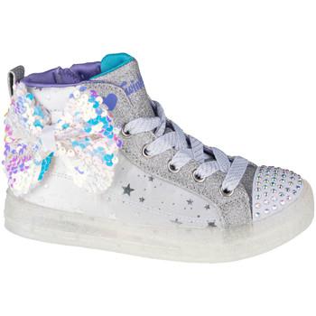 Skor Barn Sneakers Skechers Shuffle Brights 2.0 Blanc