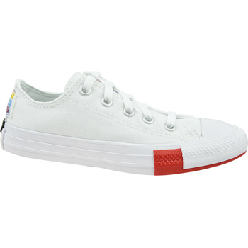 Skor Barn Sneakers Converse Chuck Taylor All Star Jr Blanc