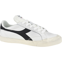 Skor Herr Sneakers Diadora Melody Leather Dirty Blanc