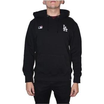 textil Herr Sweatshirts 47 Brand MLB Los Angeles Dodgers Hoodie Noir
