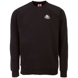 textil Herr Sweatshirts Kappa Taule Sweatshirt Noir