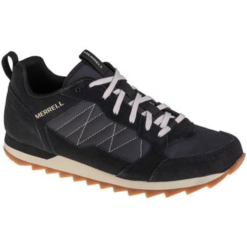 Skor Herr Löparskor Merrell Alpine Sneaker Noir