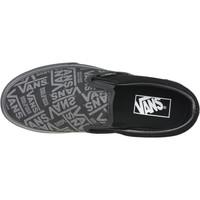 Skor Dam Sneakers Vans 66 Classic Slip-On Platform Noir