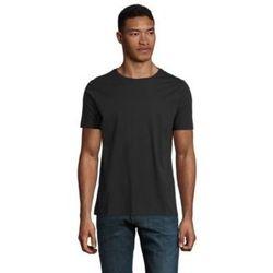 textil Herr T-shirts Sols LUCAS MEN Negro profundo