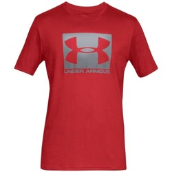 textil Herr T-shirts Under Armour Boxed Sportstyle SS Tee Rouge
