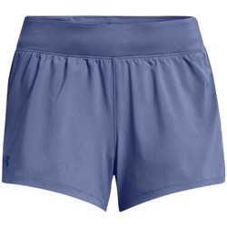 textil Dam Shorts / Bermudas Under Armour Launch SW 3 Short Bleu